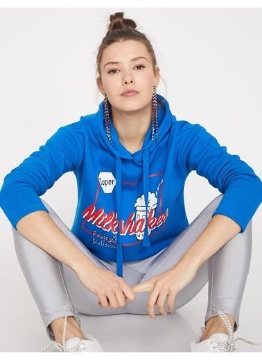 Koton Sweatshirt Mavi